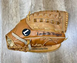 "LOUISVILLE SLUGGER KHBG9 Softballer Glove Left Hand 13.5"" Leather Bruise Guard"