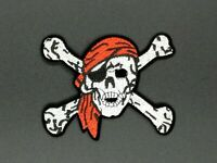 Parche Pirata Patch Pirate Custom Bones Boat Sea