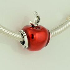 Pandora Originale Disney Biancaneve Mela Rossa Charm S925 ALE
