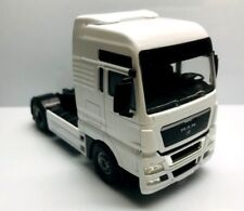 JOAL 1/50 MAN CAMION TRAILER TRUCK MADE IN SPAIN METAL BLANCO WHITE