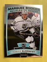 2019-20 OPC Platinum Marquee Rookies #196 Tobias Bjornfot Los Angeles Kings RC