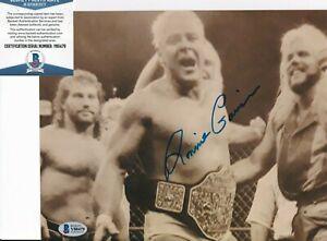 """""""RUGGED"""" RONNIE GARVIN signed (WRESTLING) NWA 8X10 photo BECKETT BAS Y80479"""