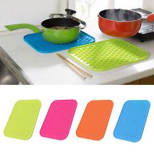 Silicone non-Stick Slip cuisine alimentaire Mat Pad isolé résistant à la chaleur
