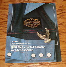 Original 1979 Harley Davidson Motorcycle Fashions Accessories Sales Brochure 79