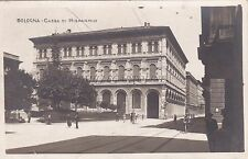 BOLOGNA - Cassa di Risparmio - Foto Cartolina 1926
