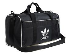 Adidas Original Large Duffle Bags Black Running GYM Soccer Bag Sacks CW0618