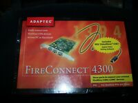 Adaptec Connect 4300 Firewire 3 Port PCI Card for Mac or PC PN 512712-00 Rev. B