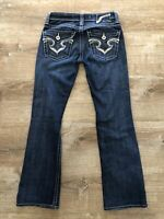 Womens Big Star Bootcut Jeans Sz 25L Low Rise Blue Denim