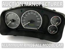 Mitsubishi Lancer Evo 1996-2003 Polished Aluminum Chrome Dial Rings For Counter