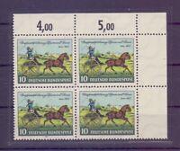 Bund 1952 - MiNr. 160 - postfrisch** im Eckrand-4erBlock (657)