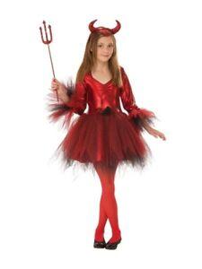 Red Devil Girl Halloween Girls Costume