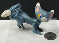 Glameow Nintendo Pokemon Jakks Pacific Articulated Figure 2007 Rare Vintage
