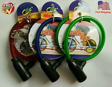 """24"""" BIKE LOCK CABLE CHAIN 2 KEYS 1 PC, Bicycle (free shipping)"""