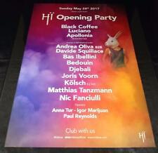 More details for hi ibiza 2017 opening / radio 1 / closing - ibiza club posters - house music dj