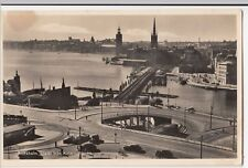 Sweden; Stockholm, View From Katarinah RP PPC, 1950 PMK to Wells GB