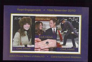 COOK ISLANDS #1358 Souvenir Sheet MNH Royal Engagement William & Kate - 37