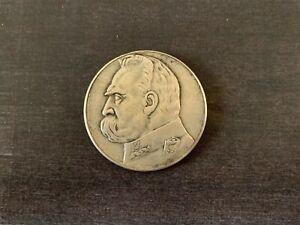 POLAND 10 ZLOTYCH 1938 PILSUDSKI