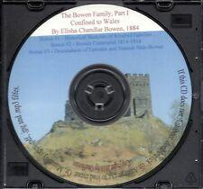 Bowen Family History - Genealogy