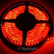 10X 5m 500CM Red 3528 SMD LED Flexible 600 LEDS Strip