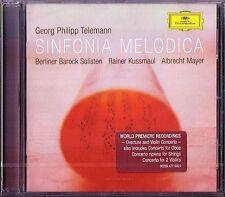 TELEMANN Sinfonia Melodica ALBRECHT MAYER Berliner Barock Solisten KUSSMAUL CD