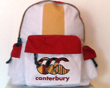 CANTERBURY RUGBY UGLIES BACKPACK BAG - WHITE
