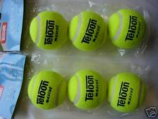 6 Tennis Ball For Training and competition Bargain