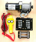 Electric 12V 2000LB Cable Winch Kit