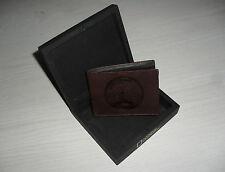 Cartera Billetera Piel Marron NATIONAL GEOGRAPHIC 11 x 8 cm Brown Leather Wallet