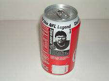 ANTHONY MUNOZ BENGALS FOOTBALL HALL OF FAME HOF SODA COKE CAN NFL 2000 ISSUE