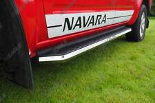 Fits Nissan Navara D40 Side Steps - Alpine F1 Running Boards BEST QUALITY