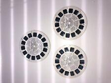 ABC TV Viewmaster Six Million Dollar Man 3 Discs 1974
