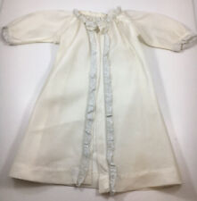 Vintage 1950s sheer stretch Lace Negligee Nylon Peignoir robe OOAK doll Clothes