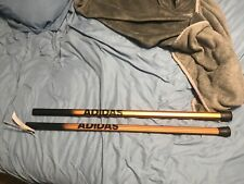 adidas lacrosse carbon  sticks two of them  (copper and black) (size 30)
