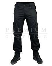 BNWT Hombres Jeans de pierna recta Denim Pantalón mecánica de los agricultores Pantalones De Trabajo Pesado