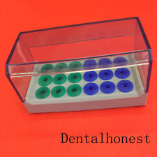 Dental Plastic Holder Case Block For High Speed Burs For Implant Drill Autoclave