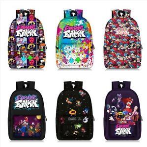 Friday Night Funkin FNF Backpack School book bags laptop bag Mochila rucksacks