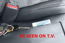 SET OF CAR SEAT GAP BLOCKERS patented STOP DROP CREVICE FILLER CRACK CADDY CATCH