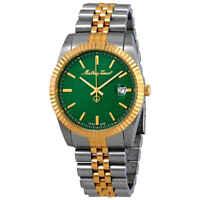 Mathey-Tissot Mathey III Quartz Green Dial Men's Watch H810BV