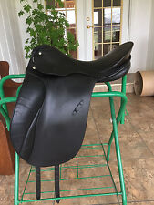 Passier Grand Gilbert Dressage Saddle 17.5 seat medium tree 27.5cm Black