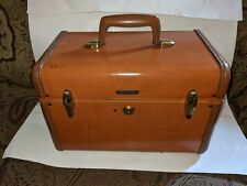 Vintage Samsonite Shwayder Bros Travel Train Makeup Case Style 4612 Made in USA