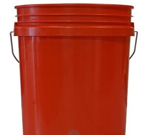 Grit Guard Wash Bucket- Red