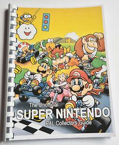 100% Unofficial PAL Super Nintendo Collectors Guide