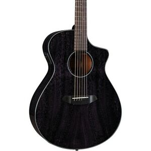 Breedlove Rainforest S African Mahogany Concert Acoustic-Electric Guitar Orchid