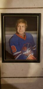 BOBBY HULL Autographed Photo 8x10 Framed Not Authenticated RARE!