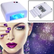 US 110V Pro. 36W Professional UV Lamp Light Dryer Gel Curing Tube Nail Art Salon