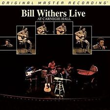 WITHERS, BILL - LIVE AT CARNEGIE HALL NEW VINYL RECORD