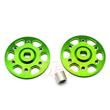 Gpm Aluminum Spur Gear Adapter Green Axial Yeti Xl Ep 1:8 1:10 Rc Car #Yt115-G