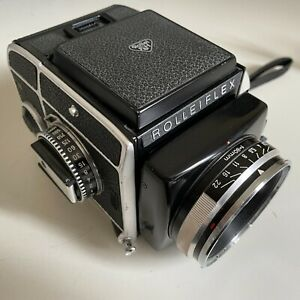 Rollei Rolleiflex SL66 with Carl Zeiss Planar 80mm f2.8 in EXCEPTIONAL CONDITION