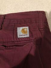 Carhartt Sid Shorts Butgandy 30 Slim