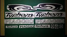 Piaggio Typhoon Tech for fun Swirl Decals/Stickers 50 80 125 172 183  FULL KIT